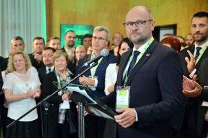 Richard Sulík po skončení mimoriadneho kongresu SaS vo Zvolene.