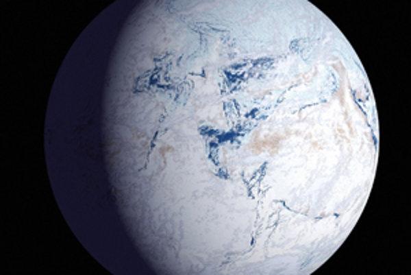 Zem v minulosti vyzeralo ako snehová guľa.