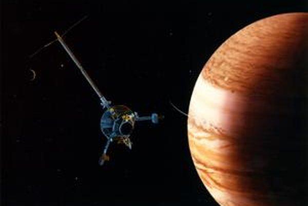 Jupiter a niektoré jeho mesiace pozorovala aj sonda Galileo.