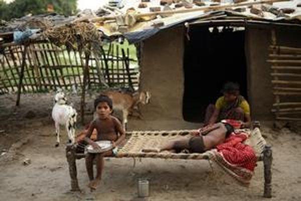 Indickým problémom je podvýživa detí.