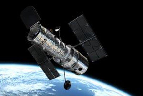 Hubblov vesmírny teleskop. Potrebuje opravu.
