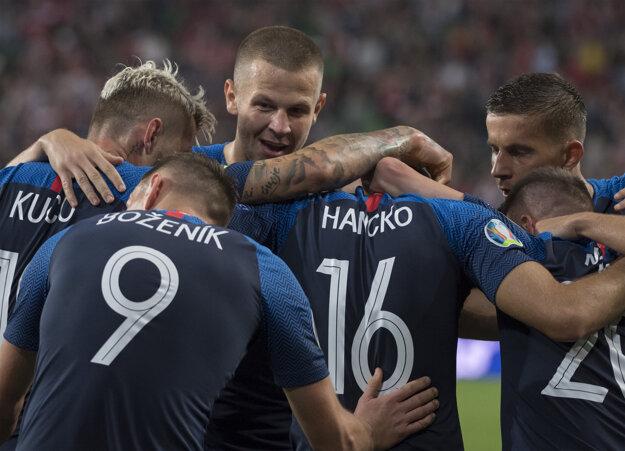 Slovenskí futbalisti.