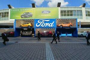 Autosalón Frankfurt 2019 - stánok Ford