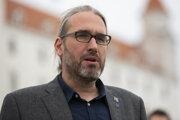 Poslanec do Európskeho parlamentu a Martin Hojsík z hnutia Progresívne Slovensko.