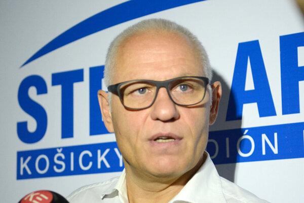 Košický tréner Peter Draisaitl.