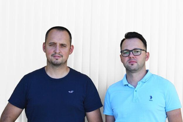Zľava prezident SKZZ František Majerský a viceprezident SKZZ Michal Weinciller