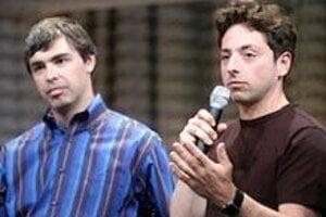 Zakladatelia internetového vyhľadávača Google - Larry Page a Sergey Brin