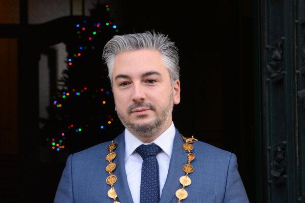 Predseda Košického samosprávneho kraja Rastislav Trnka.