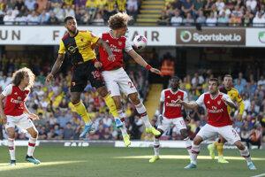 Arsenal Londýn stratil body vo Watforde.