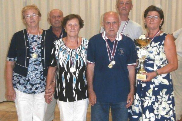 Zľava: P. Turičíková, J. Hlubina, A. Markovičová, J. Kalaš, M. Kozák, Z. Muthová.