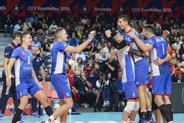 Slovensko počas ME vo volejbale 2019.