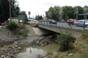 Rekonštrukcia mostu Prievidza