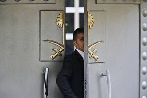 Saudskoarabský konzulát v Istanbule.