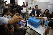 V Izraeli volili v predčasných voľbách v utorok.