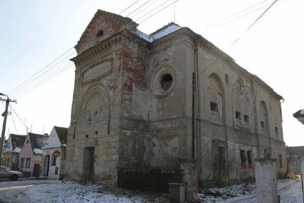 Synagóga v Šaštíne.
