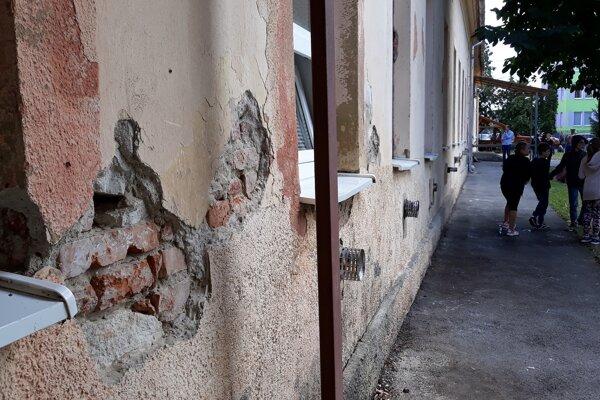 Aj takto vyzerá Základná škola Pavla Horova v Michalovciach.