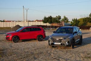 Škoda Karoq Sportline a Hyundai Tucson N Line