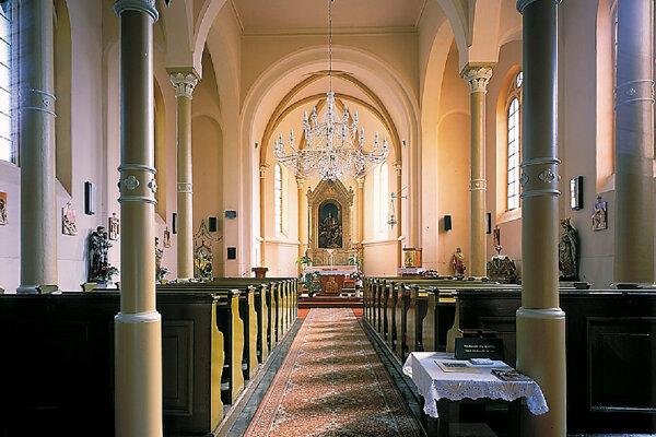 Kostol sv. Ľudmily v Prakovciach.