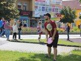 V Prievidzi sa hrá aj frisbee.