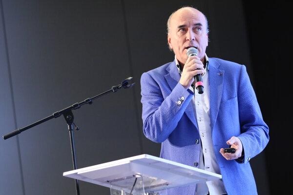 Ľubnomír Palčák, generálny riaditeľ Výskumného ústavu dopravného Žiline.