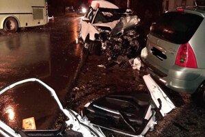 Ďalšia tragická nehoda na oravských cestách.