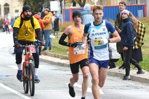 Jozef Urban sa na trati košického maratónu poriadne vytrápil.