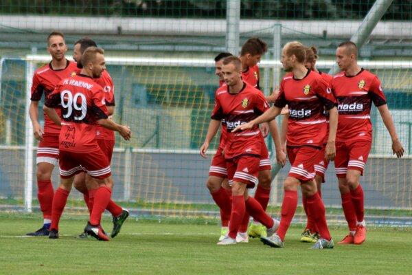 Humenčania dosiahli v sobotu tretiu výhru v rade a na vedúci Vranov strácajú iba tri body.