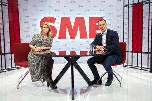 Erik Tomáš a Zuzana Kovačič Hanzelová v relácii Rozhovory ZKH.