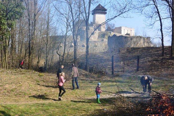 Čerešňový sad postupne obnovujú.