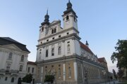 Katedrála sv. Jána Krstiteľa v Trnave.