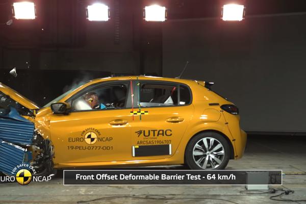 Nový Peugeot 208 získal v nárazových testoch len štyri hviezdičky