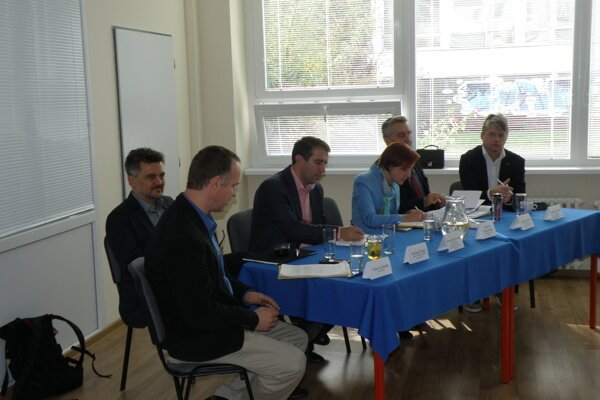 Diskusia pre malých a stredných podnikateľov.