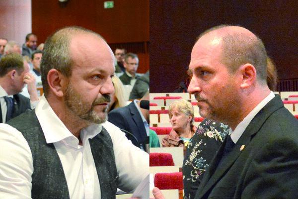 Henrich Burdiga (vľavo) a Jaroslav Polaček.