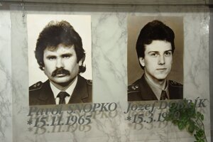 Pavol Snopko a Jozef Dobrík zahynuli pri výkone služby.