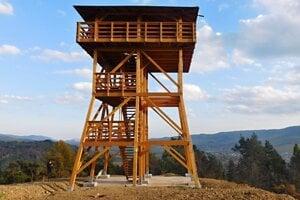 Nová vyhliadková veža v Lipanoch.