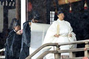 Nový japonský cisár Naruhito.