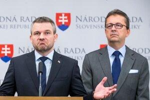 Premiér Pellegrini a Martin Glváč.