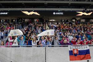 Momentka zo zápasu Slovan Bratislava - Wolverhampton.