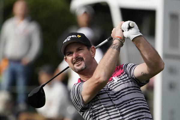 Slovenský golfista Rory Sabbatini.
