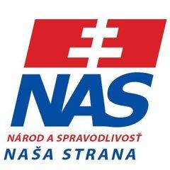 Národ a Spravodlivosť - naša strana (logo strany)