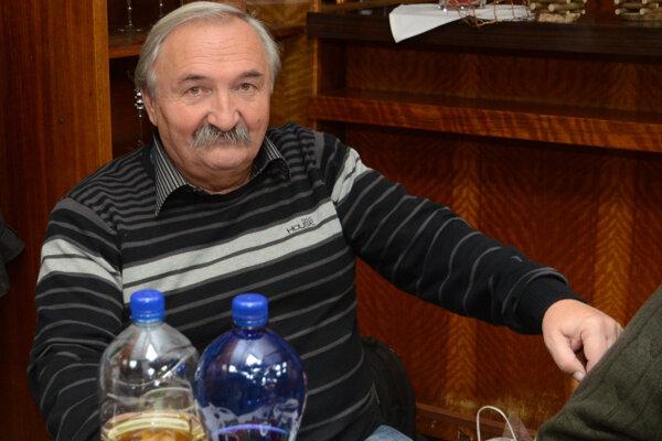 Jubilant Ján Leško.