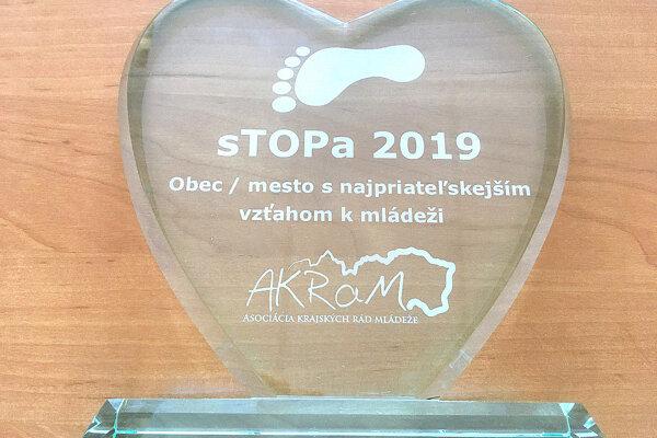 Nové ocenenie Zábiedova.