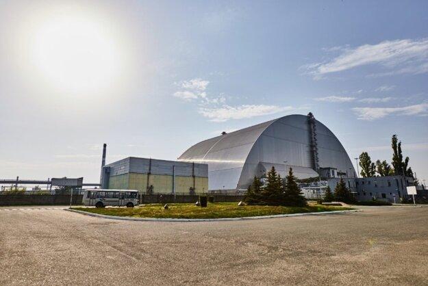 Sarkofág, pod ktorým sa skrýva vybuchnutý reaktor