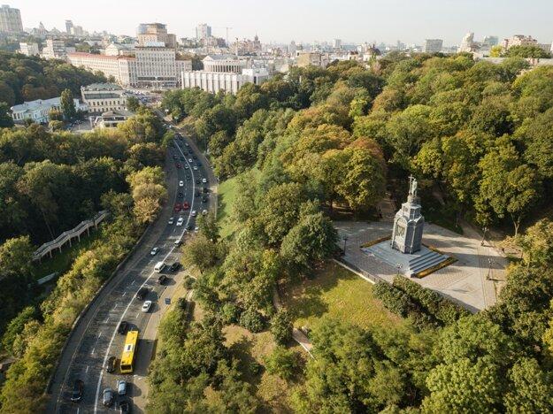 Parkov je v Kyjeve nespočetne veľa