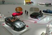 Ferrari múzeum v Modene.