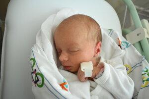 Eliška Blažejová (2640 g, 49 cm) sa narodila 24. októbra Marike a Pavlovi zo Starej Turej.
