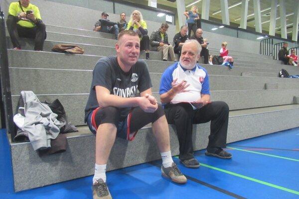 Ladislav Stupák (vľavo) sa tešil z prestížneho prvenstva.