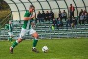 Roland Šmahajčík v drese FK Tatran Turzovka