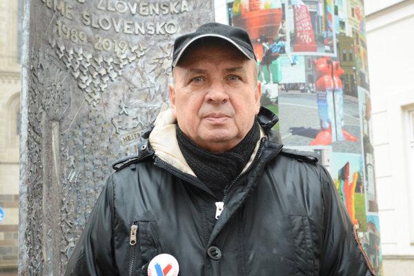 Peter Neuwirth, aktér novembra ´89 a spoluzakladateľ Občianského fóra v Košiciach.