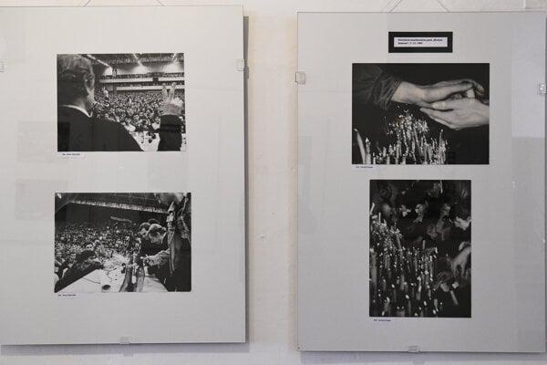 Udalosti z Novembra zachytené na dobových fotografiách v Krajskom múzeu v Prešove.